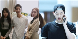 yan.vn - tin sao, ngôi sao - Ngày kết hôn đến gần, Song Joong Ki xuất hiện với thân hình gầy gò khiến Song Hye Kyo