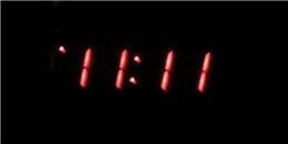 Thời khắc 11:11 trên đồng hồ có ý nghĩa đặc biệt như thế nào, bạn biết không?