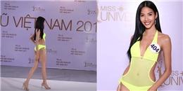 Hé lộ màn catwalk cực đỉnh của Hoàng Thùy ở Hoa hậu Hoàn vũ khiến fan