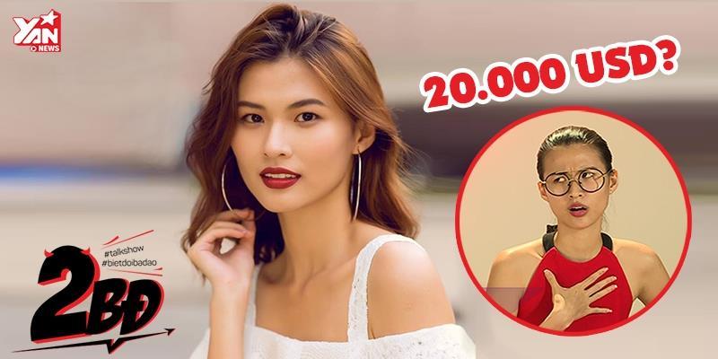 """[2BĐ] Hậu Next Top, Cao Thiên Trang bị đại gia """"gạ gẫm"""" 20.000 USD?"""