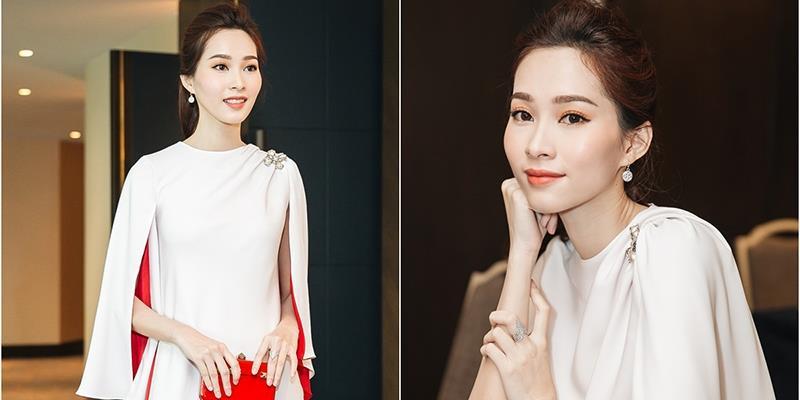yan.vn - tin sao, ngôi sao - Hoa hậu Đặng Thu Thảo xinh đẹp đi sự kiện trước ngày cưới với chồng đại gia