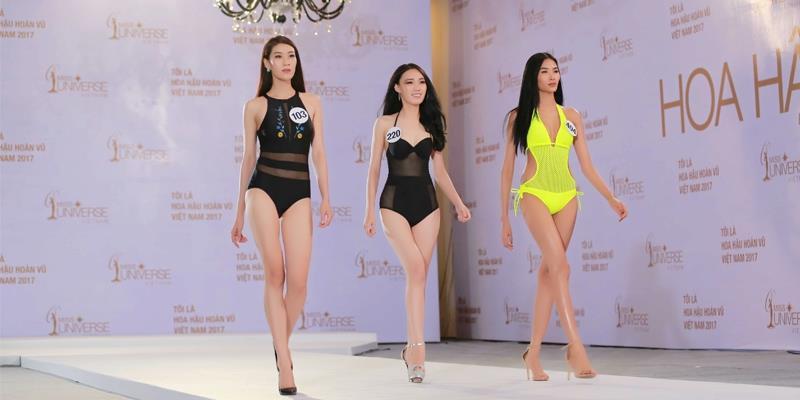 yan.vn - tin sao, ngôi sao - Hình ảnh thí sinh thi Bikini vòng sơ khảo miền Nam Hoa hậu Hoàn vũ Việt Nam 2017