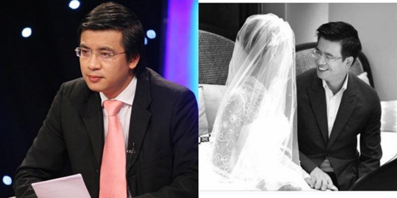 yan.vn - tin sao, ngôi sao - BTV Quang Minh kết hôn ở tuổi 41 với bà xã
