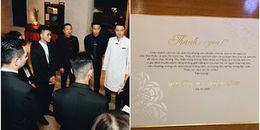 An ninh được thắt chặt tuyệt đối trong tiệc cưới, Đặng Thu Thảo và chồng đại gia gửi lời xin lỗi