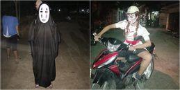 Bộ ảnh hóa trang đi chơi Halloween của các thánh 'lầy' khiến bạn không nhịn được cười