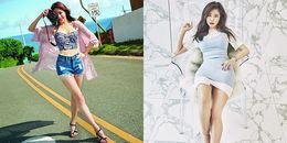 Sở hữu cặp đùi mật ong như Hani, Hyosung trong 'một nốt nhạc'