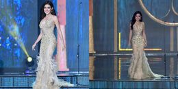 Huyền My được cổ vũ không ngớt phần trình diễn dạ hội Bán kết Miss Grand International 2017