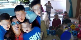 Bốn đứa trẻ vô tư ngủ cạnh thi thể của mẹ và bố dượng trong suốt nhiều ngày liền