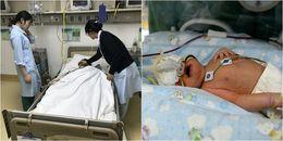 Một cảnh tượng hãi hùng đập vào mắt: Người mẹ phải sinh non 2 đứa con ở ngay cầu thang đi bộ