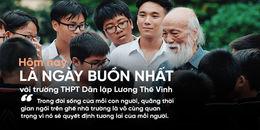Hôm nay, là ngày buồn nhất với tất cả học sinh trường THPT Dân lập Lương Thế Vinh