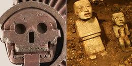 Những báu vật vô giá dưới kim tự tháp Mexico
