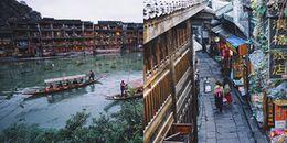 Vẻ đẹp tiên cảnh của Phượng Hoàng cổ trấn giữa Trung Hoa phồn thịnh