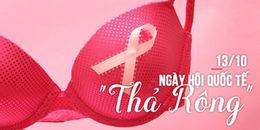 Chị em ơi, hưởng ứng ngay thôi nào: Hôm nay chính là ngày Quốc tế không mặc áo ngực!