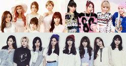 2 BXH âm nhạc lớn công bố nhóm nhạc nữ Kpop đạt thành tích nhạc số ấn tượng nhất từ trước đến nay