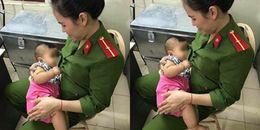 Hà Nội: Bé trai 7 tháng tuổi kháu khỉnh bị bỏ rơi tại nhà nghỉ, được cán bộ cho bú tạm ở phường