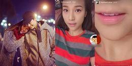 Sau nửa năm chia tay, Huỳnh Anh bất ngờ đăng ảnh bờ môi của Hoàng Oanh?