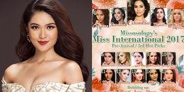 Vừa sang đến Nhật, đại diện Việt Nam ở Hoa hậu Quốc tế đã được dự đoán lọt Top 15