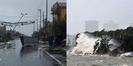 Cực nguy hiểm: Bão số 11 càng vào bờ càng mạnh, sức gió giật cấp 15
