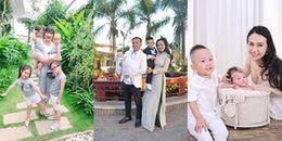 Những gia đình sao Việt hạnh phúc viên mãn vì có 'đủ nếp, đủ tẻ'