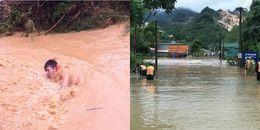 Nghệ An: Nước lũ dâng cao chảy xiết khiến 2 người mất tích, 1 người tử vong