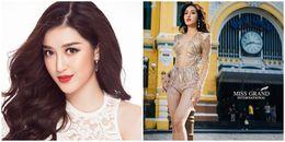 Huyền My xếp thứ 6 bình chọn nhiều nhất của Miss Grand International 2017