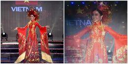 Huyền My gây ấn tượng với trang phục dân tộc tại Miss Grand International 2017