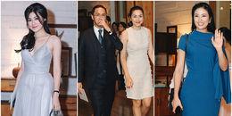 Vợ chồng Tăng Thanh Hà cùng dàn sao 'khủng' nô nức dự tiệc cưới của Đặng Thu Thảo