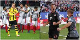 Bayern thắng chật vật, Dortmund đánh mất lợi thế dẫn điểm