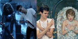 Chết cười với 2 anh chàng 'lầy lội' bỗng dưng 'chen chân' vào MV của Taylor Swift