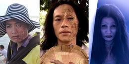 Những màn hóa trang rùng rợn không muốn nhìn lại của sao Việt