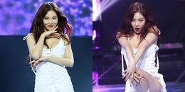 """Chỉ cần một động tác, Hyuna khiến người hâm mộ """"đứng hình"""" khi quá sexy"""