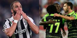 1h45,19/10/2017 Juventus vs Sporting Lisbon: Thức tỉnh đi 'Lão bà'