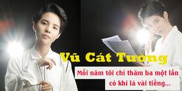 """yan.vn - tin sao, ngôi sao - Vũ Cát Tường: """"Mỗi năm tôi chỉ thăm ba một lần, có khi chỉ là vài tiếng"""""""