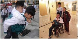 Tuyệt vời tình bạn của nam sinh Thái Bình: 8 năm cõng bạn đi học, được Bộ GD&ĐT tuyên dương