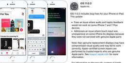 Đừng tải iOS 11.0.2 nữa vì đã có iOS 11.0.3 rồi