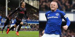 Rooney khởi màn cơn mưa bàn thắng trên sân Goodison Park