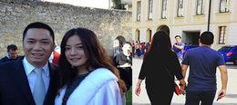 Sau 8 năm kết hôn, Triệu Vy cuối cùng đã chịu 'khoe' tình cảm mặn nồng bên chồng