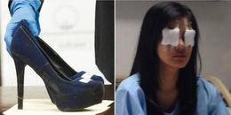 Đi giày cao gót 15 phân đá mù mắt đồng nghiệp chỉ vì... tiền niềng răng