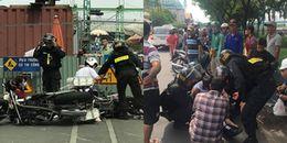 TP.HCM: Tạm đình chỉ công tác chiến sĩ cảnh sát cơ động dùng chân lên gối vào bụng học sinh cấp 3