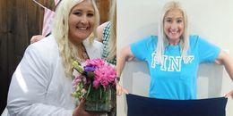 Nỗ lực phi thường của cô gái giảm từ 226kg còn... 68kg