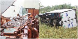 Thái Bình: Người dân hoảng hồn vì 'vòi rồng' bất ngờ khiến 4 người bị thương, chục căn nhà tốc mái