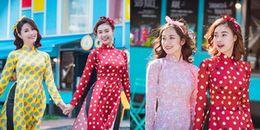 Tự tin diện Áo dài Việt Nam xuống phố, hội 'Cô ba Sài Gòn' tỏa sáng tại Hàn Quốc