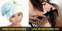 Cách làm khô tóc nhanh hơn cả dùng máy sấy, ngại gì mà không 'triển'!
