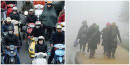 Miền Bắc đón đợt không khí lạnh cực mạnh, có nơi nhiệt độ giảm sâu chỉ còn 10 độ C