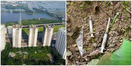 Xi lanh vương vãi trong ký túc xá nghìn tỷ 'bỏ hoang' ở Hà Nội