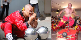 'Sởn da gà' xem bậc thầy kung-fu Việt Nam nỗ lực lập kỷ lục thế giới