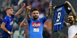 Serie A sau vòng 8: Rộn ràng sắc xanh, nhạt nhoà sắc đỏ