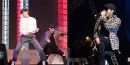 HOT: Fan phấn khích khi Lee Kwang Soo - Haha mang 'điệu nhảy kẻ phản bội' lên sân khấu Việt