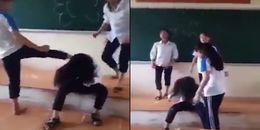 Hà Nội: Phẫn nộ hình ảnh nhóm học sinh cấp 2 hành hung, xé áo một bạn nữ ngay trong lớp