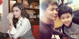 Trương Quỳnh Anh 'lẻ bóng' sau thông báo ly hôn, Tim hạnh phúc bên con trai